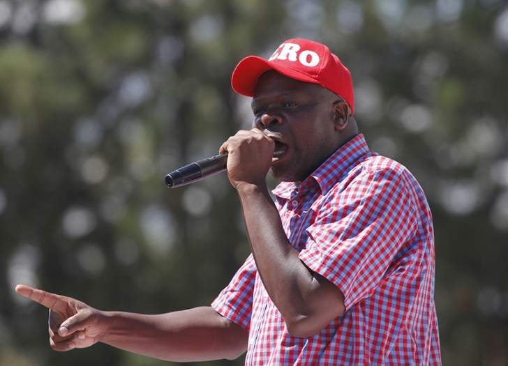 Chibaya blames MDC bigwigs for chaotic structures