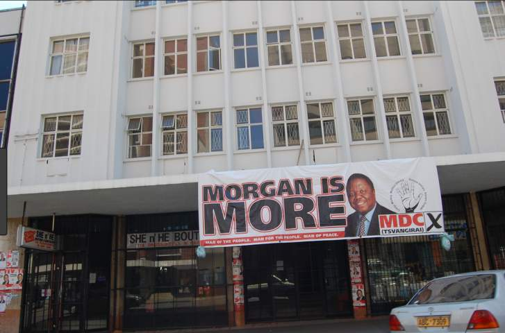 MDC-T HQ renamed after Tsvangirai