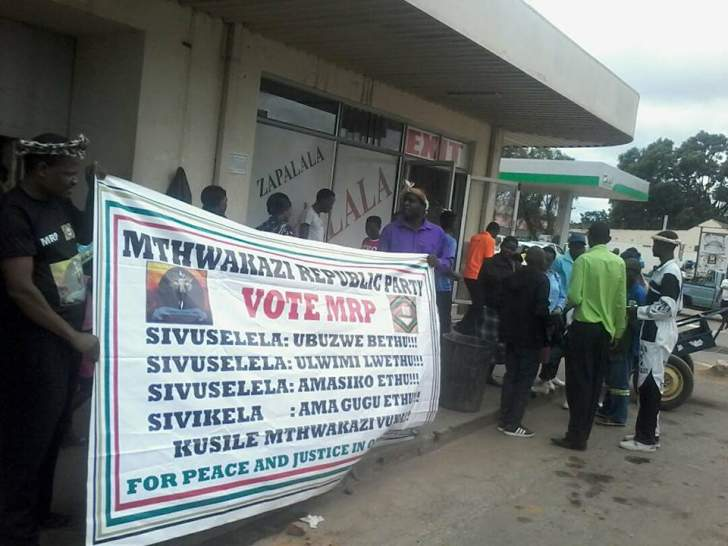 Mthwakazi Republic Party receives a stunning welcome in Gwanda