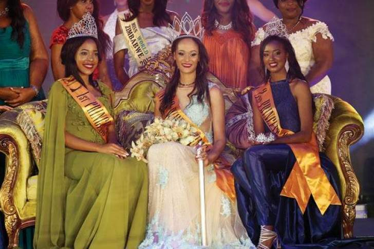 Potts crowned Miss Zimbabwe