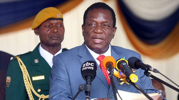 I hold no grudges, says Mnangagwa