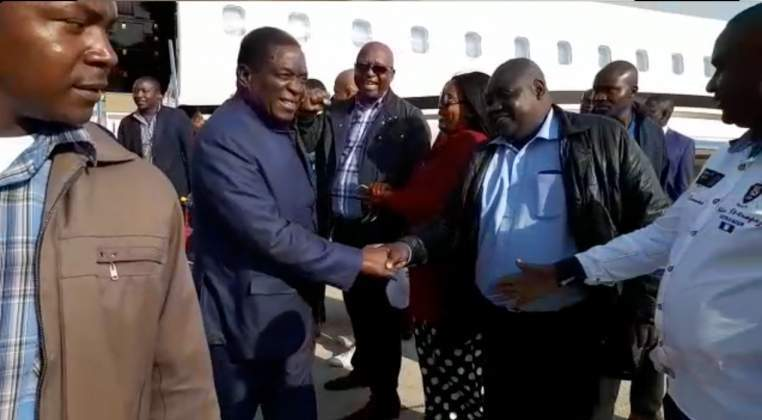 Jet-setting Mnangagwa divides nation