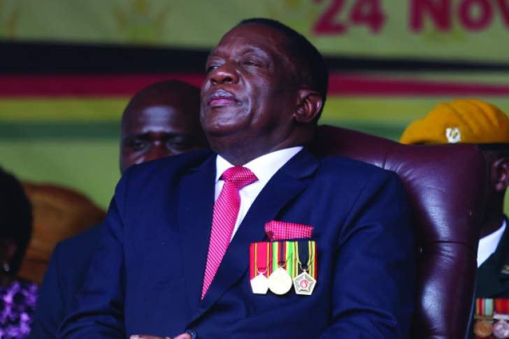 Mnangagwa on Time magazine's 100 most influential people in the world