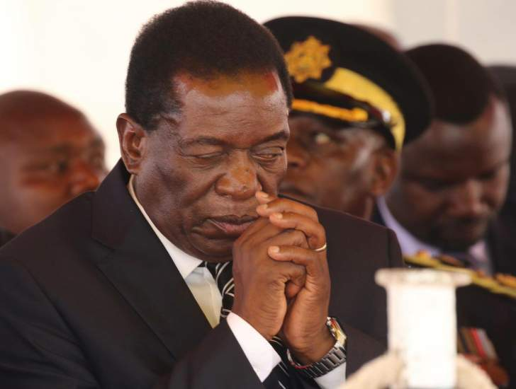 Mnangagwa latest today news on emmerson