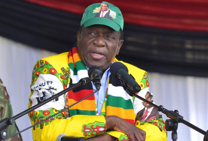 Mnangagwa 'steals' campaign concept