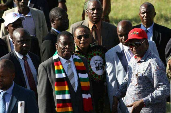 Mnangagwa song video on cards