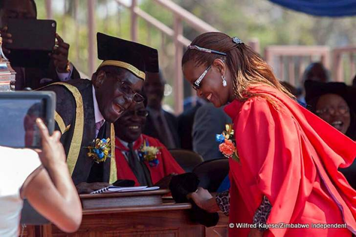 UZ vice-chancellor gets ultimatum over Grace Mugabe PhD