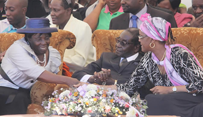 Mugabe S Leadership Has Anointing From Grace