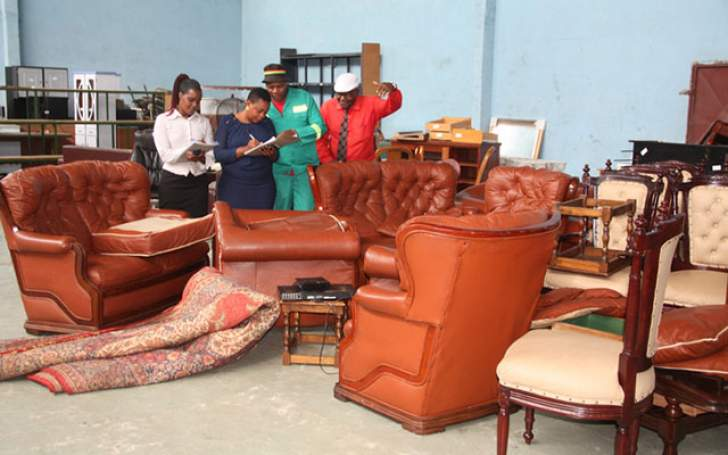 Mutasa's household property to be actioned