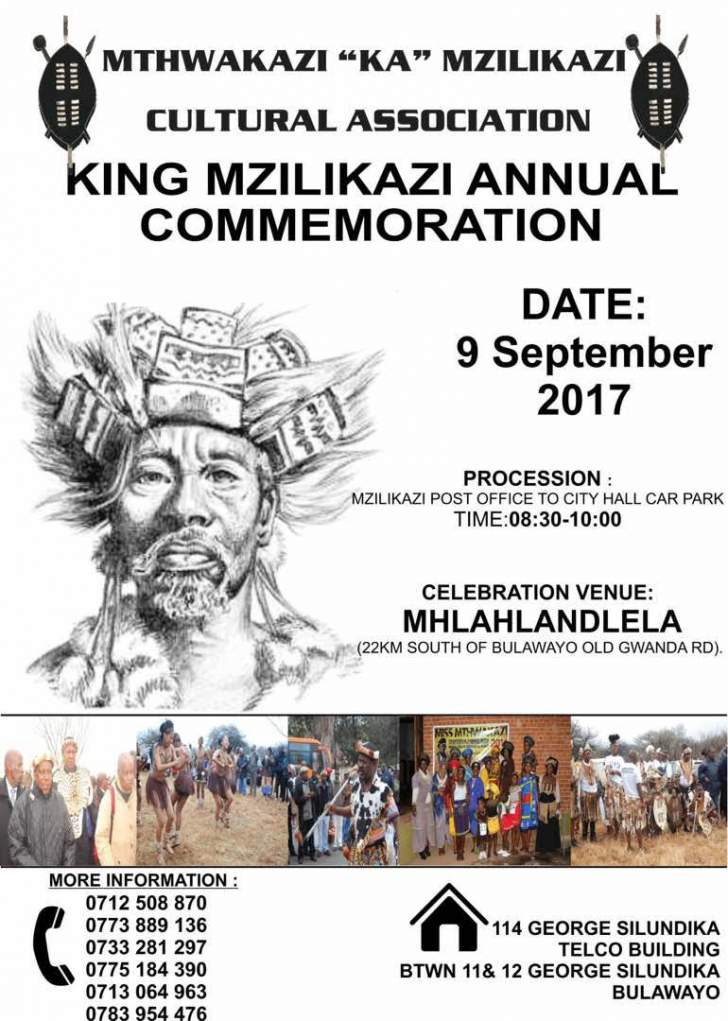 King Mzilikazi annual commemoration