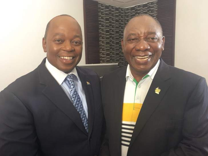 Ramaphosa forgives Peter Ndoro for 'killing' him