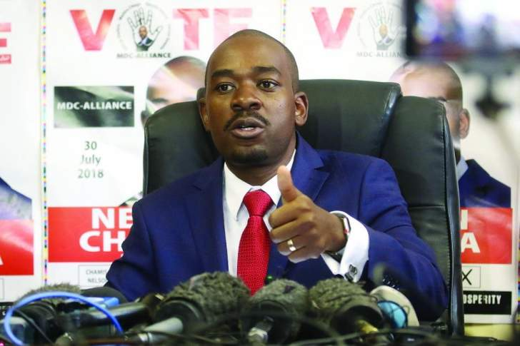 Chamisa's bitter MPs awaits Mnangangwa in Parly