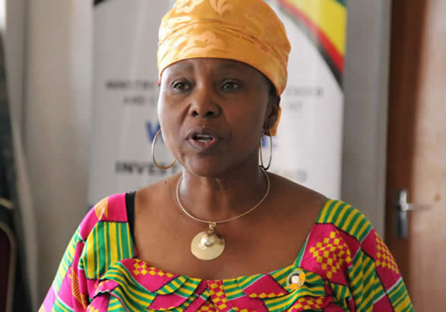 Muchinguri urges women to celebrate her appointment