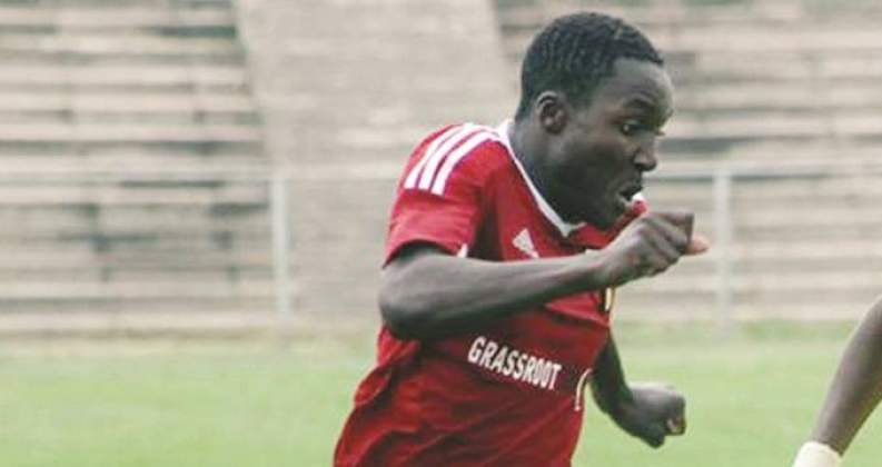 Chicken Inn striker Chirinda at Bosso