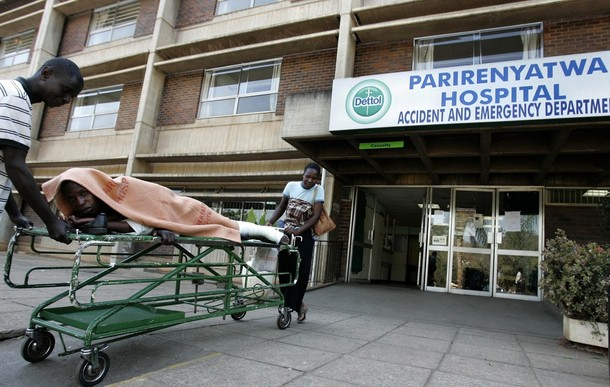 Parirenyatwa hospital threatens to fire striking doctors