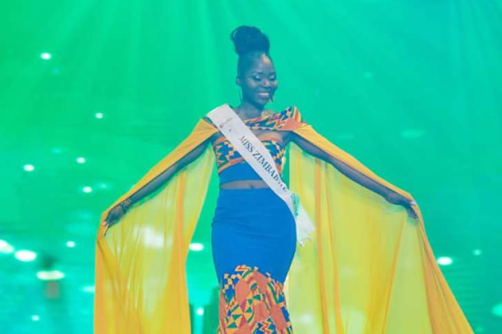 Zimbabwe model fares well in global pageant