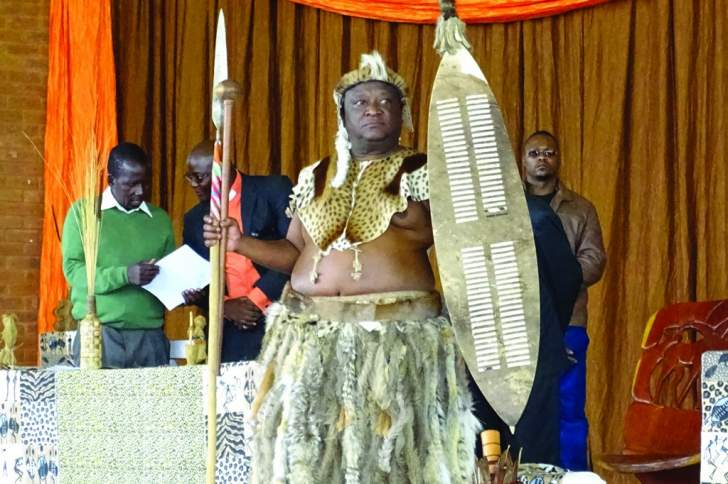 Peter Zwide Kalanga unveiled as Ndebele King