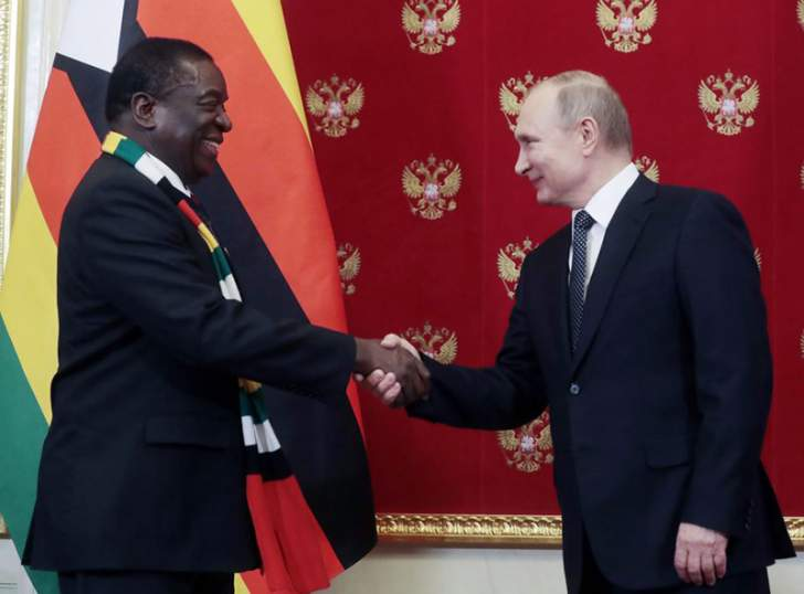 Mnangagwa to buy 'State-of-The-Art' Russian arms