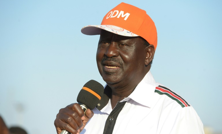 Odinga tweets solidarity message with Zimbabwean