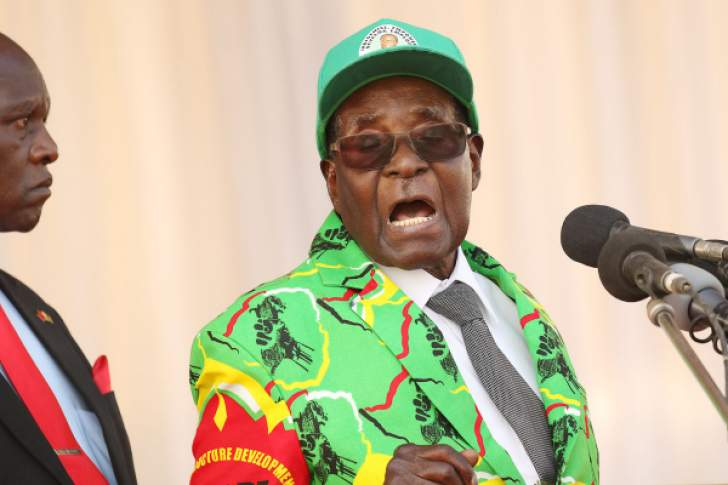 Mnangagwa hits back at Mugabe