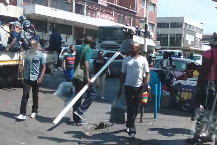Zimbabwe police launch Operation Restore Order in Harare - Live Update