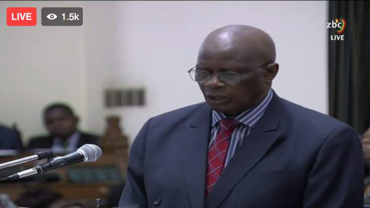 WATCH: 2018 National Budget Presentation - Chinamasa