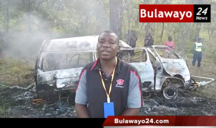 WATCH: 6 people burnt beyond recognition in kombi crash