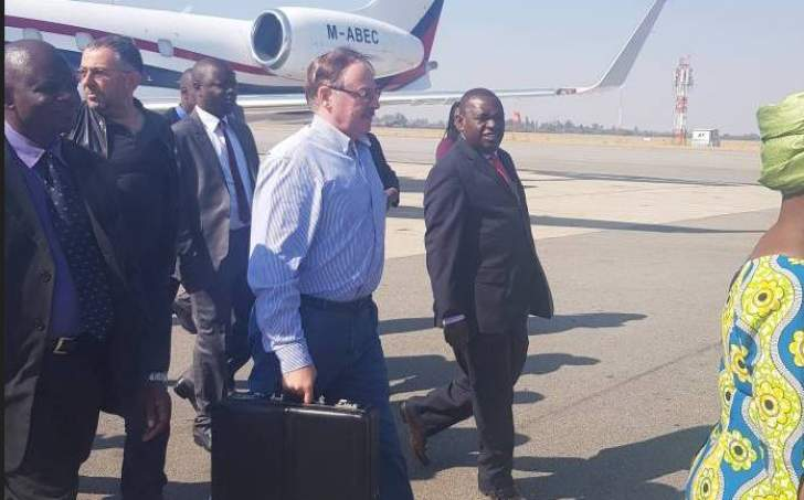 Belarus envoy delivers special message to Mnangagwa