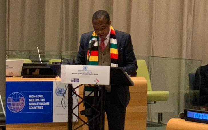 Mthuli Ncube statement at the United Nations High Level Meeting on Middle Income Countries