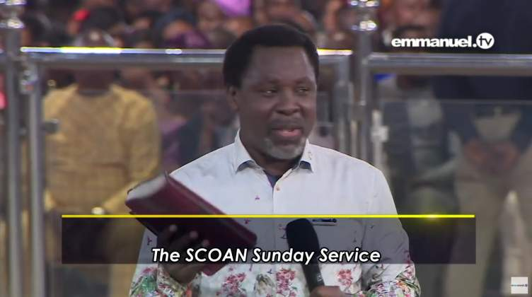 T.B. Joshua's message to Nigeria before 2019 elections