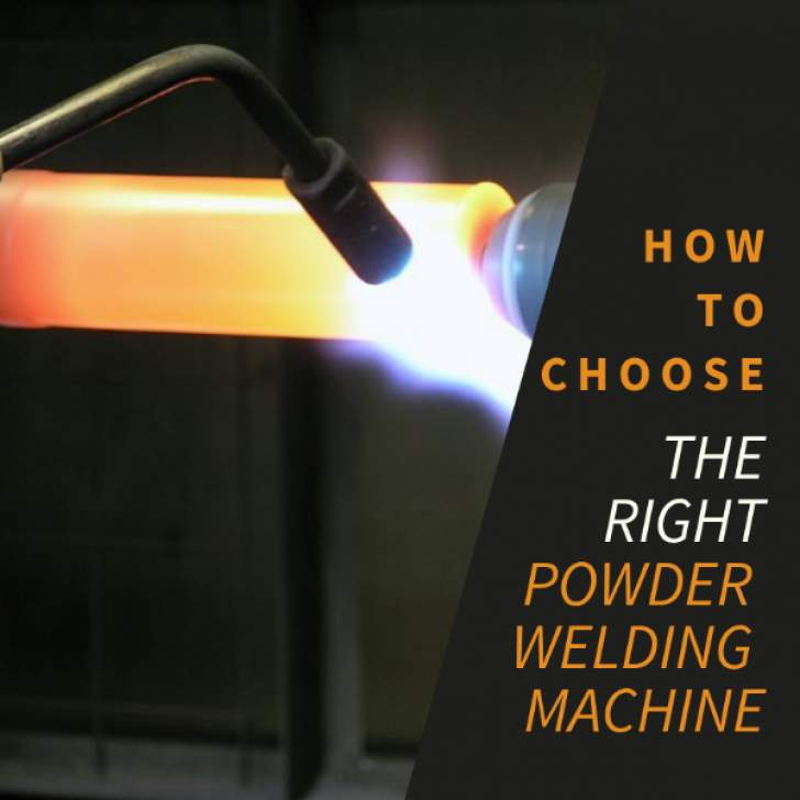 How to choose the right powder welding machine