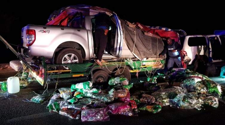 Bukkie wrapped in 'snacks' smugglers appear in SA courts