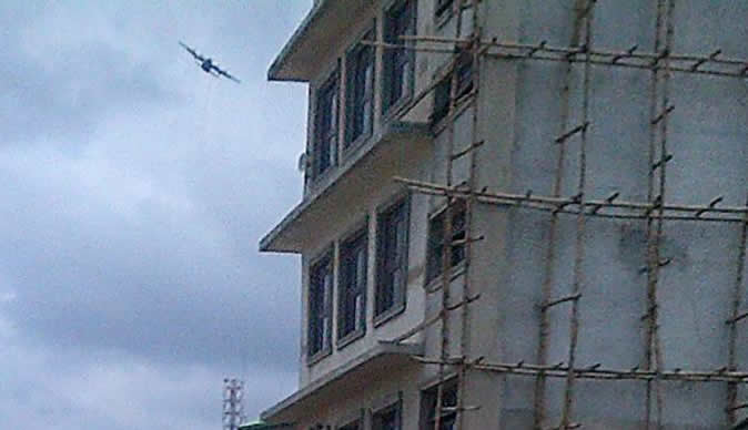 Picture of plane allegedly behind Tb Joshua Church collapse released