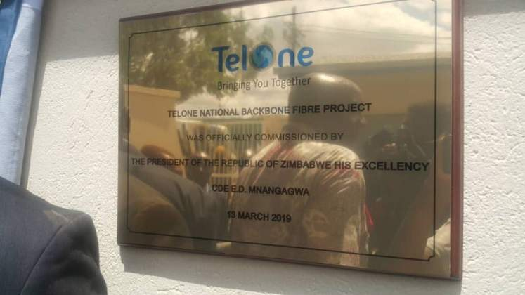 Optic fibre link - another feather in the cap for Zimbabwe