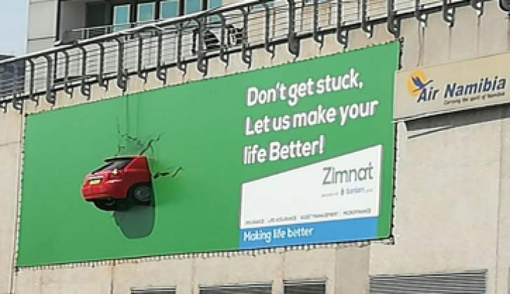 Zimnat launches another innovative billboard campaign