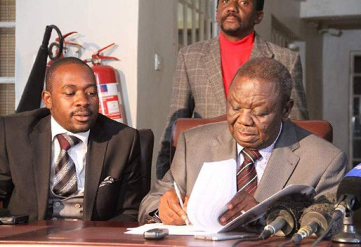 Chamisa banks on Tsvangirai sympathy