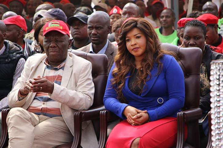 Tsvangirai's wife barred from seeing him