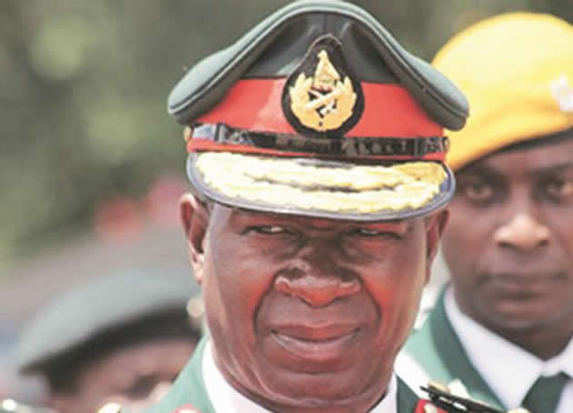 Zimbabwe defence force chief retires, seen being elevated to VP