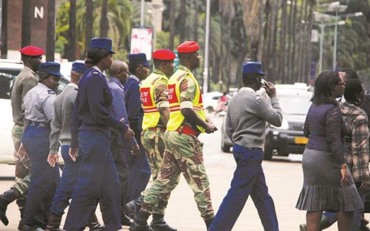 Zimbabwe military patrols raise eyebrows
