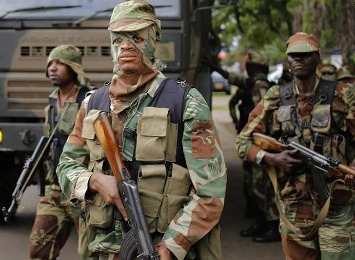 Pay rise for the Zimbabwe Defence Forces