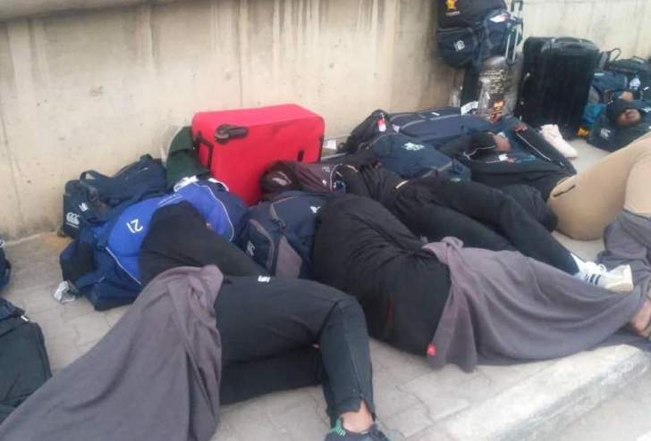 Zimbabwe national rugby team forced to sleep on the streets of Tunisia