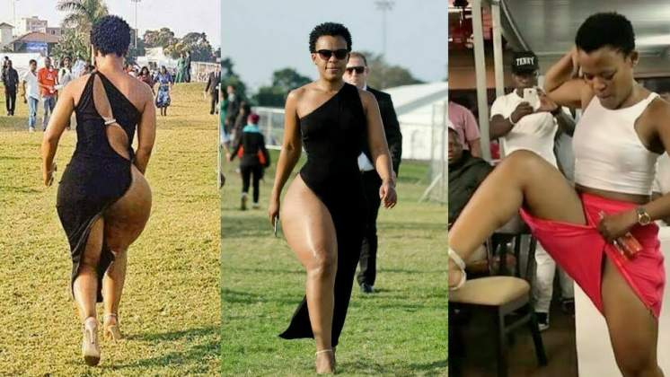 Zodwa Wabantu reacts to Zimbabwe ban