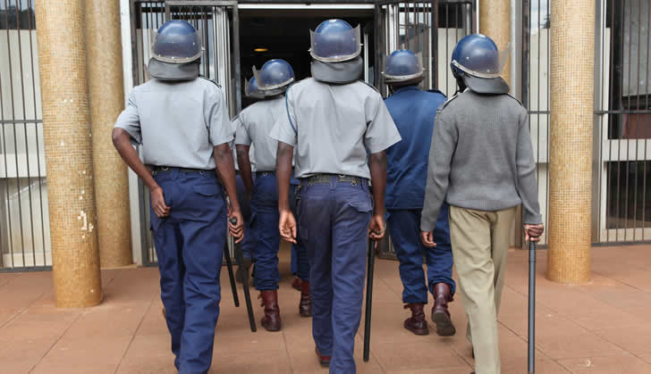 Zimbabwe police in another major shake-up