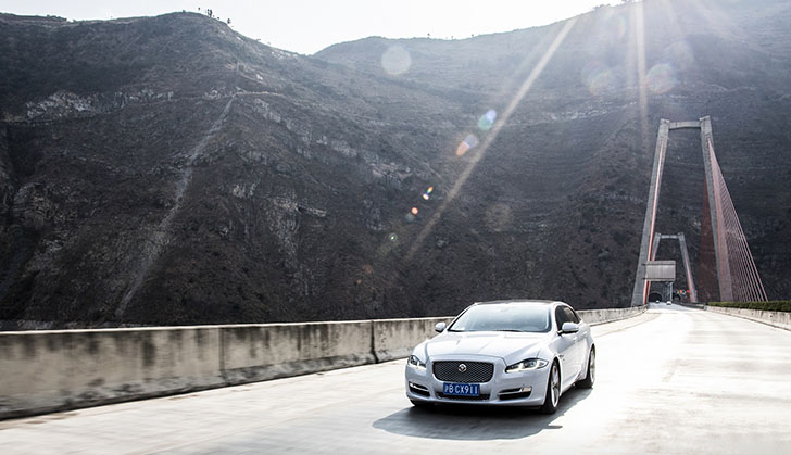 Innovative Skyroad showcases latest Jaguar XJ