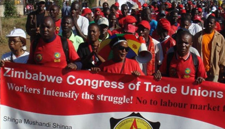 ZCTU speaks on countrywide mass action