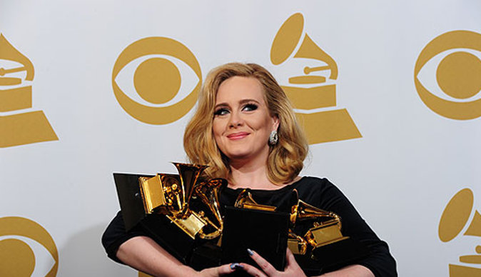 British soul diva Adele (23) wins six Grammys awards