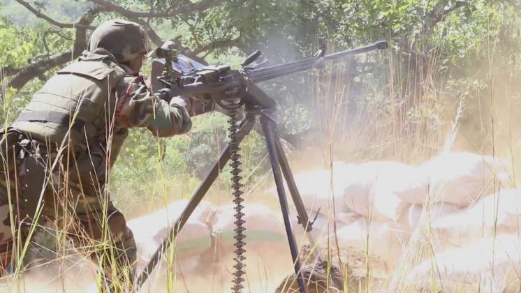 WATCH: Malawi Army steps in