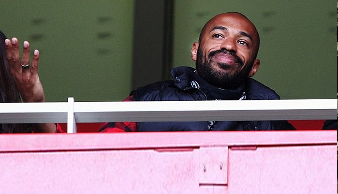 Arsenal ditches plans to play Thierry Henry today