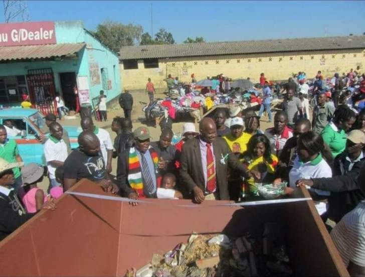 WATCH: Mom requests for more and bigger bins from Chinamasa