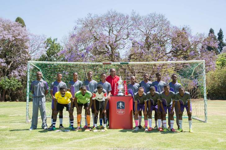 Emirates FA Cup wins hearts of Zimbabwe soccer fans